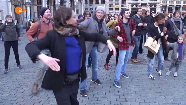 Tanz gegen Angst – Brüssel wacht auf!